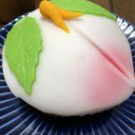 長崎の郷土菓子 「桃カステラ」
